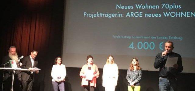 Zukunftslabor Salzburg prämiert neues WOHNEN 70plus