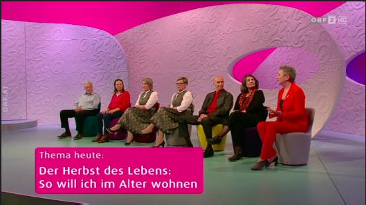 Barbara Karlich interessiert sich für das Wohnen im Alter